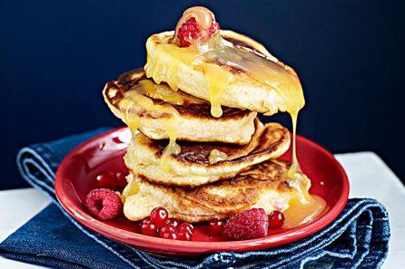 Frukost, Amerikanska pannkakor