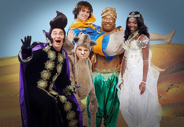 Se äventyret Aladdin på turné