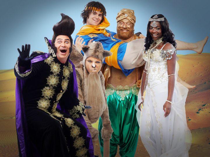 Vinn biljetter till familjemusikalen Aladdin