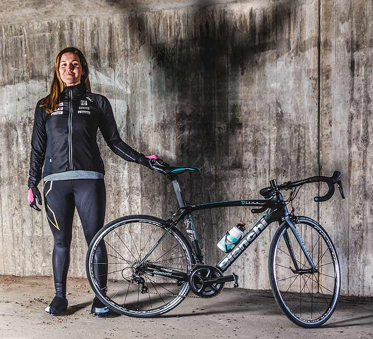 Triathlonstjärnan Annie Thorén