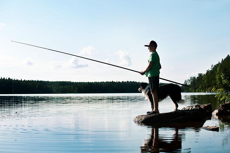 Basläger Bergslagen - fiska