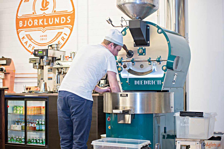 Kaffe, Björklunds Kafferosteri