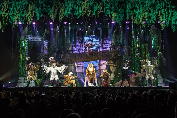 Djungelboken scenbild
