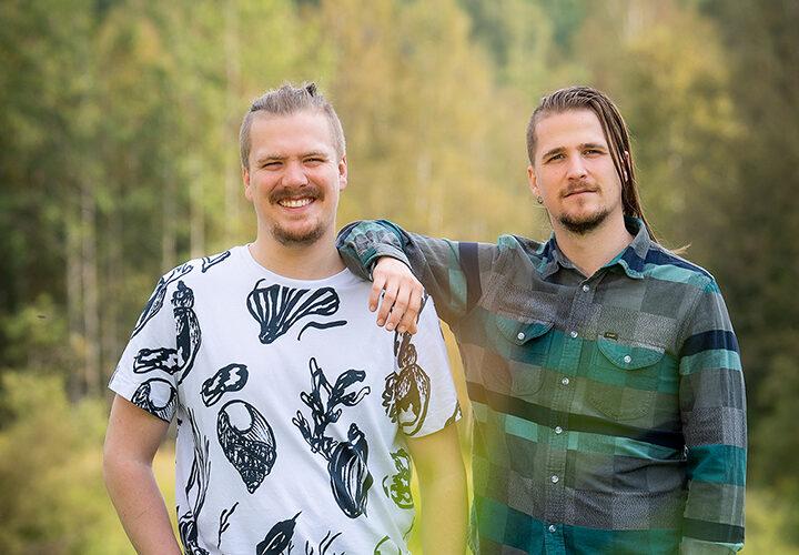 Mats och Johan flyttade tillbaka till Kopparberg