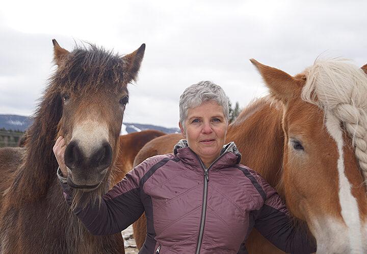 Maria driver hästgård: Det genuina och enkla är en drivkraft för mig