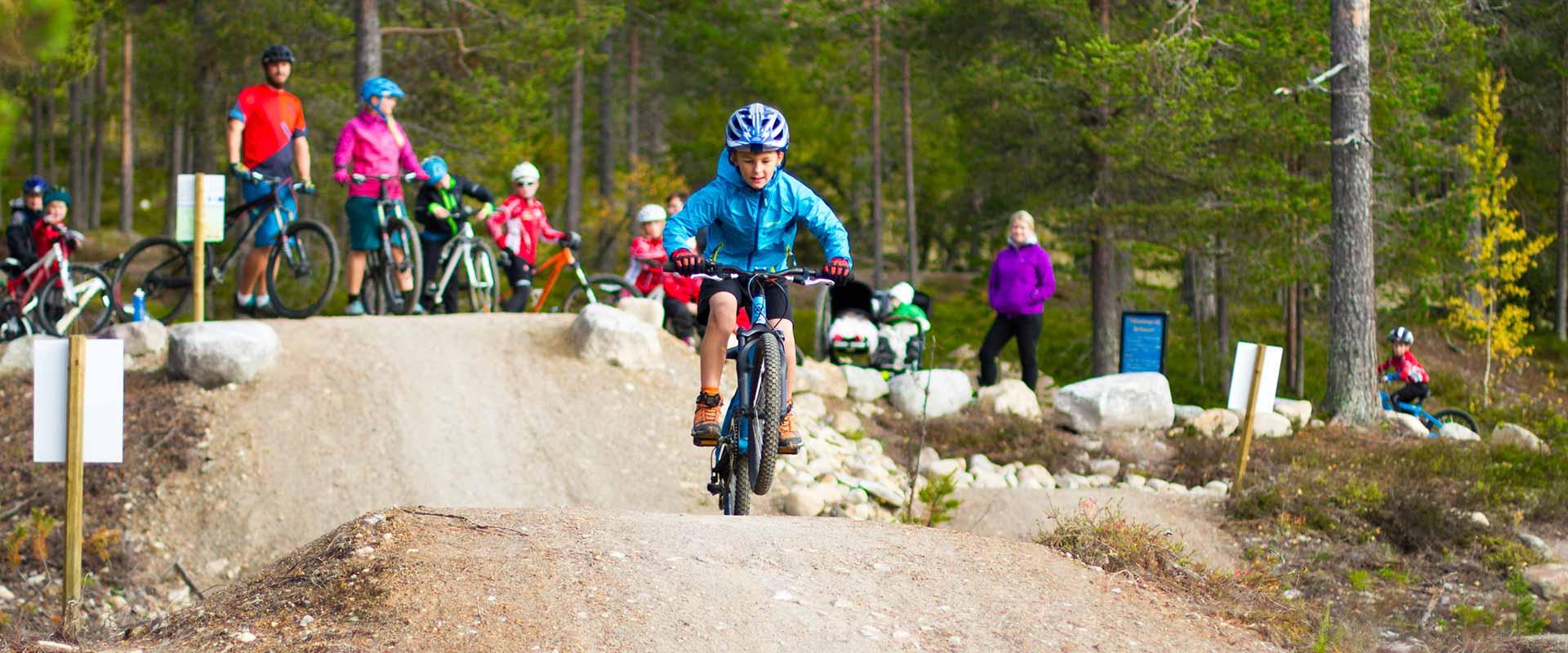Idre Fjäll cykelleder