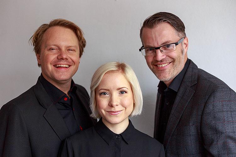 Rawchokladfabriken, Stefan, Lovisa och Markus