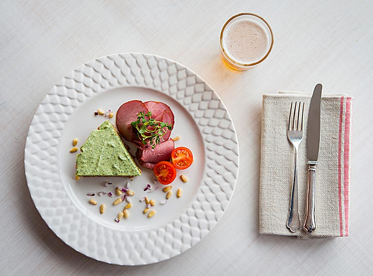 Sahlins Struts ört- och färskosttårta