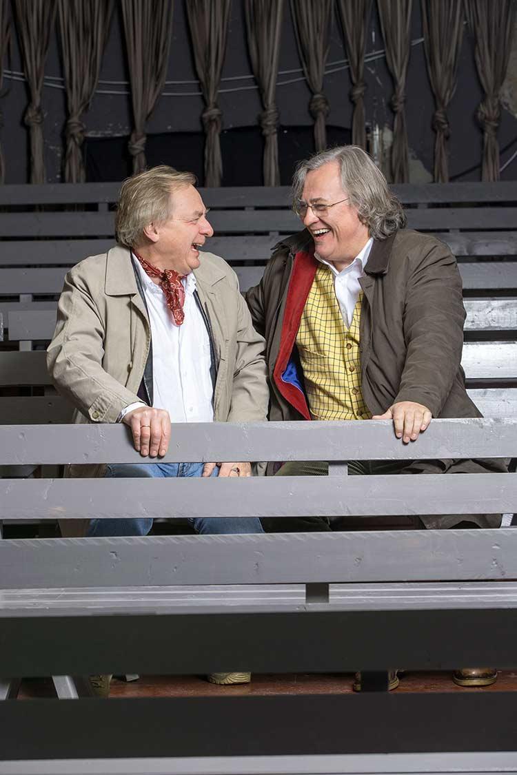 Magnus Wetterholm från Stadra Teater och Sten Niclasson från Opera på Skäret