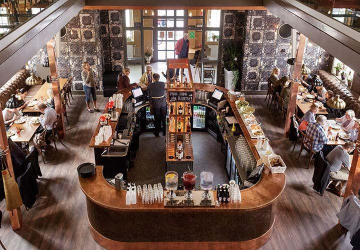 Kyrka i Sandviken blev spektakulär restaurang